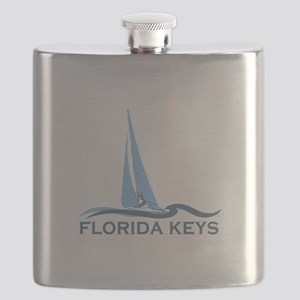 Florida Keys -Sailing Design. Flask