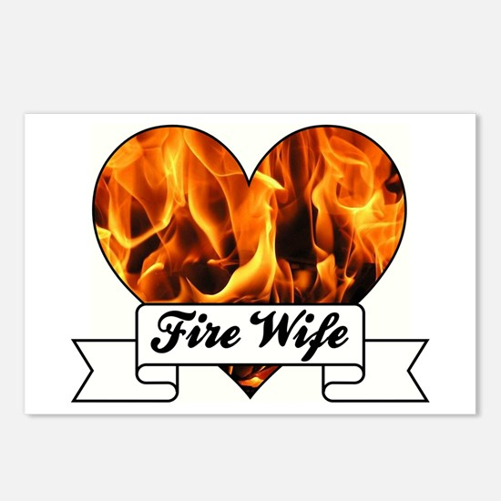 Fire Wife Postcards (Package of 8)