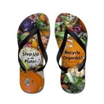 Food Waste Flip Flops