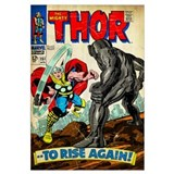 Marvels thor Wrapped Canvas Art