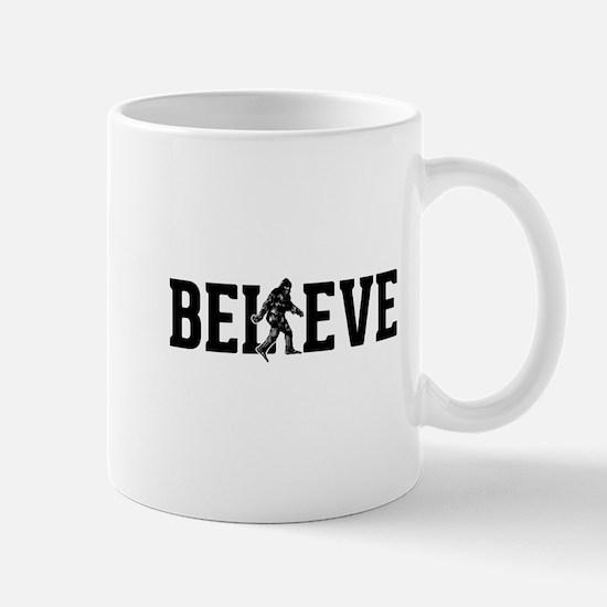 Believe Sasquatch Bigfoot Mug