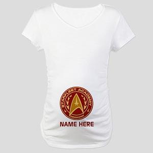 Starfleet Academy Personalized Maternity T-Shirt
