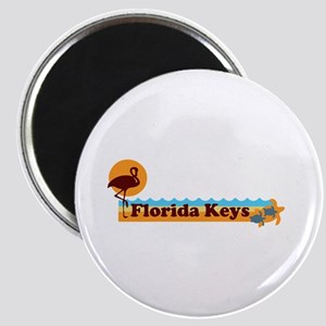 Florida Keys - Beach Design. Magnet