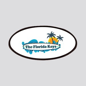 Florida Keys - Surf Design. Patches