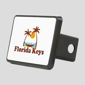 Florida Keys - Palm Trees Design. Rectangular Hitc