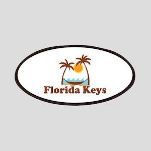 Florida Keys - Palm Trees Design. Patches
