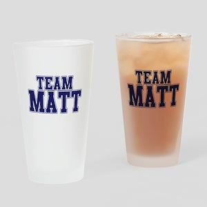 Team Matt Drinking Glass