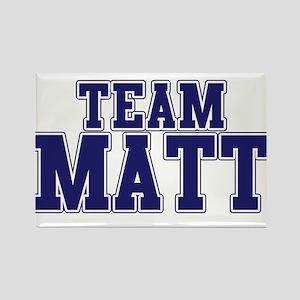 Team Matt Rectangle Magnet