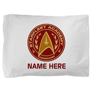 Starfleet Academy Personalized Pillow Sham
