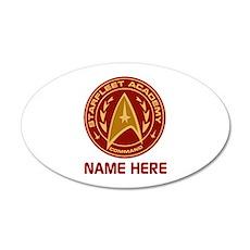 Starfleet Academy Personaliz Wall Decal