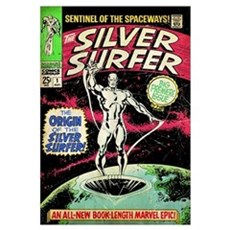 The Silver Surfer (The Origin Of The Silver Surfer Poster