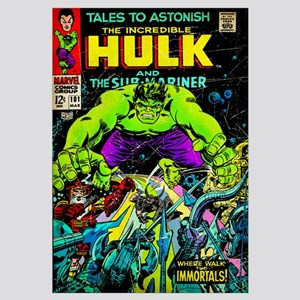 The Incredible Hulk And The Sub-Mariner (Where Wal