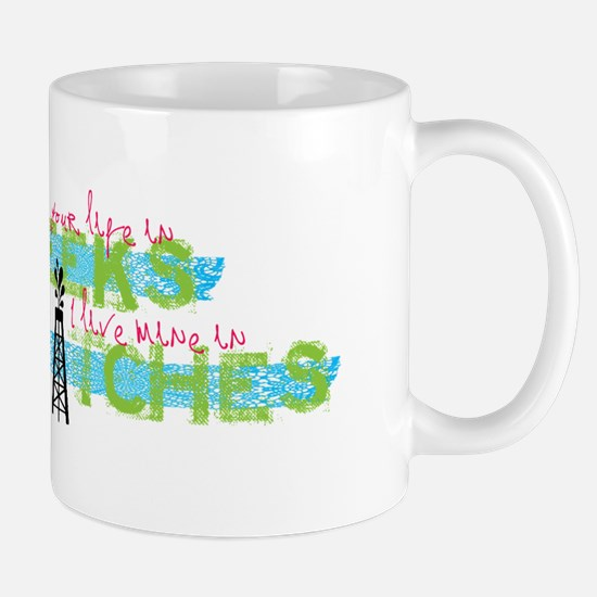 Live in Hitches Mug