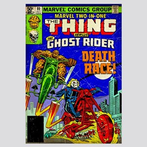 The Thing Versus The Ghost Rider (Death Race!)