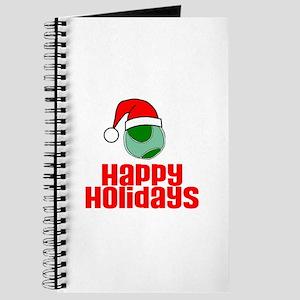 TennisChick Happy Holidays Journal