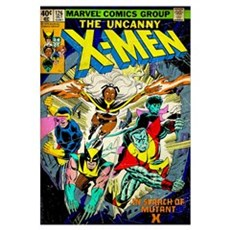 The Uncanny X-Men (In Search Of Mutant X) Poster