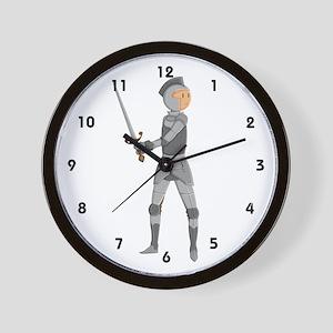 Armored Knight Wall Clock