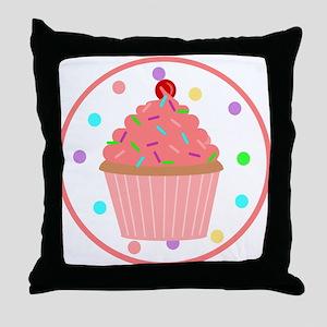 Sweet As A Cupcake Throw Pillow