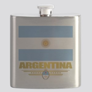 Flag of Argentina Flask