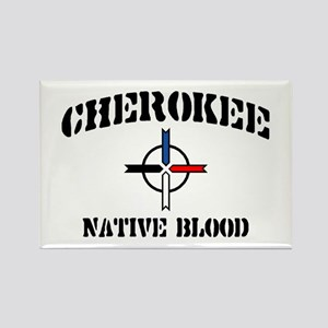 Cherokee Rectangle Magnet