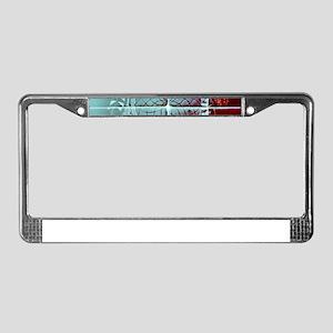 Dream On Dreamer License Plate Frame