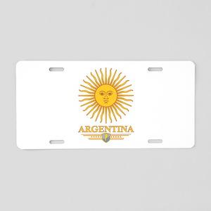 Argentina Sun Aluminum License Plate