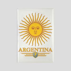 Argentina Sun Rectangle Magnet