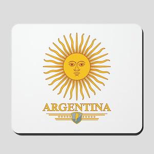 Argentina Sun Mousepad