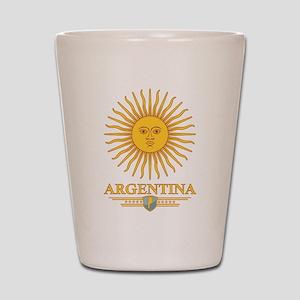 Argentina Sun Shot Glass