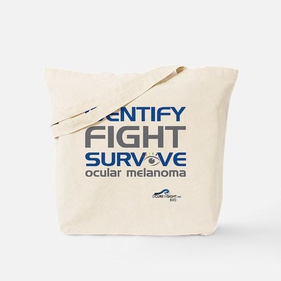 ACIS T Shirt Unisex Identify Front PRINT Tote Bag