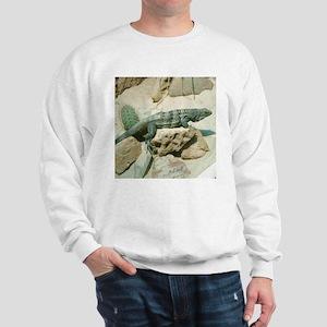 spiny-tailed iguana Sweatshirt