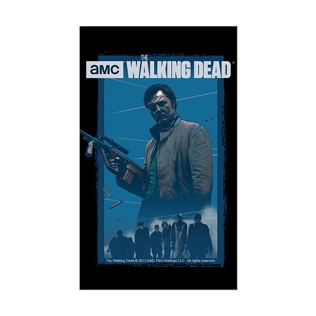 Governor Walking Dead Sticker