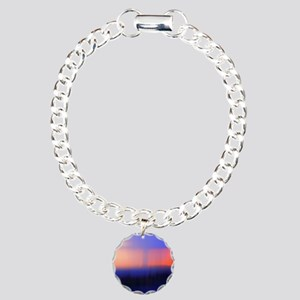 Abstract Sunset Bracelet