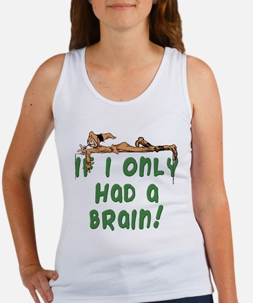 Scarecrow If I Only Had a Brain Women's Tank Top