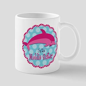 Dolphin Middle Sister Mug