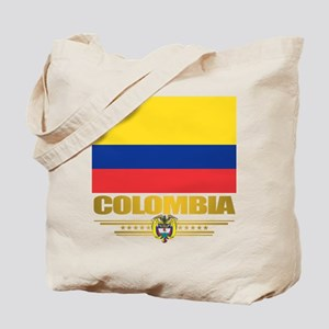 Flag of Colombia Tote Bag