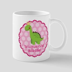 Dino Princess Middle Sister Mug