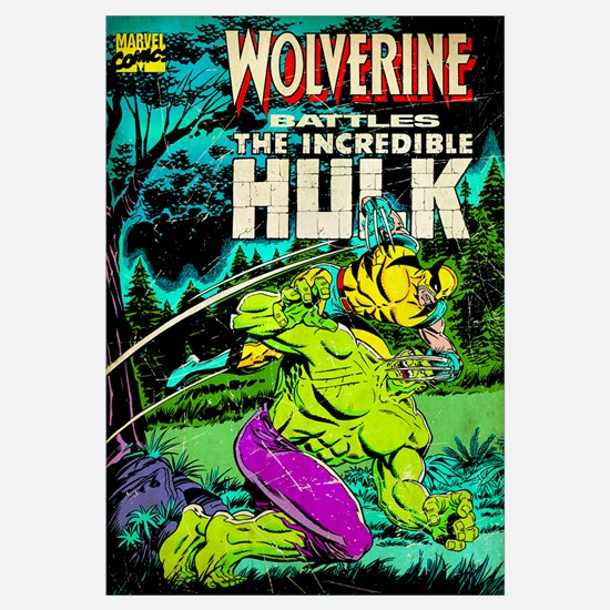 Wolverine Battles The Incredible Hulk