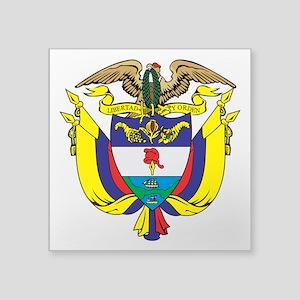 Colombia COA Sticker