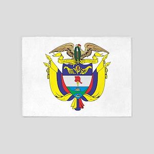 Colombia COA 5'x7'Area Rug