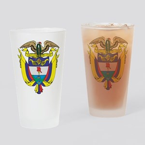 Colombia COA Drinking Glass