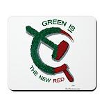 greenandred-LARGE Mousepad