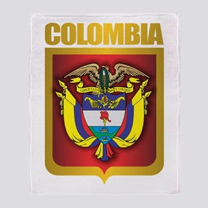 Colombia Gold Throw Blanket