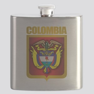 Colombia Gold Flask