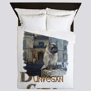 Dunvegan Castle Cairn Terrier Queen Duvet