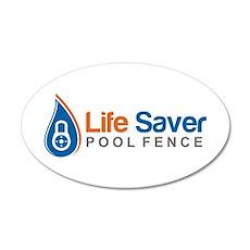 Life Saver Pool Fence Wall Decal