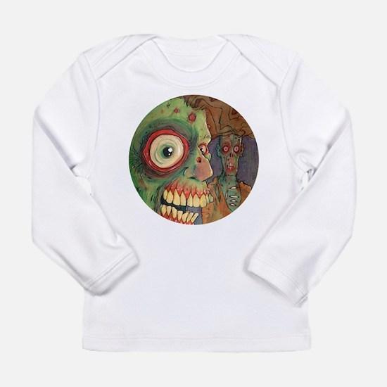 apocalyptic circle Long Sleeve T-Shirt