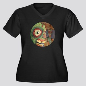 apocalyptic circle Plus Size T-Shirt