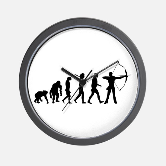 Evolution Archery Wall Clock