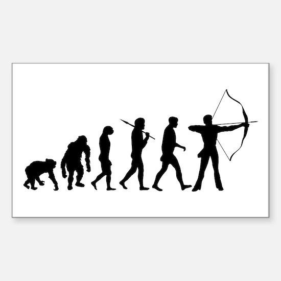 Evolution Archery Decal